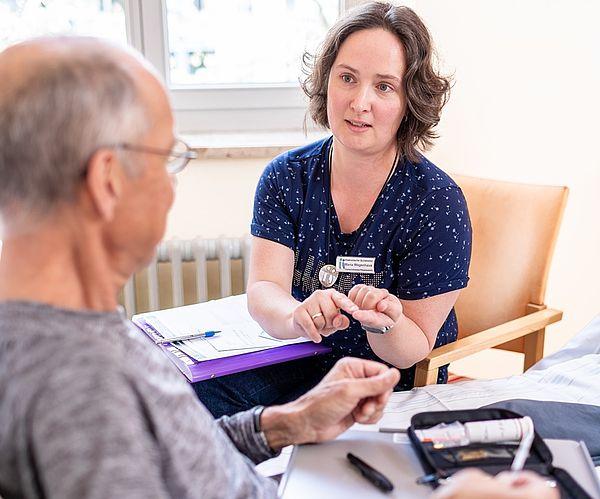 Qualifizierte Pflegeberatung im Patienteninformationszentrum