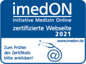 Homepage mit besonders patientenfreundlichen Informationen – zertifiziert durch die Initiative Medizin Online (imedON)