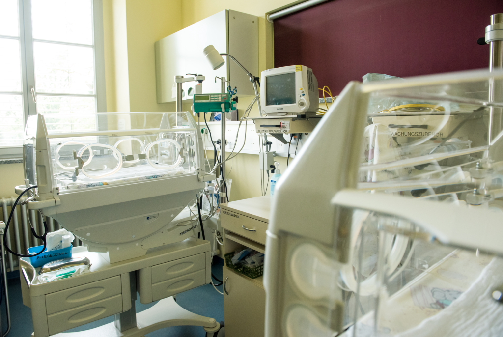 Neonatologie zur Versorgung frühgeborener und kranker Kinder