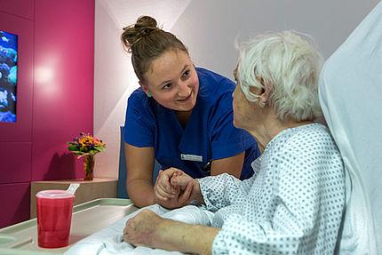 Zuwendung leben – Pflege im Diakonissenkrankenhaus Dresden